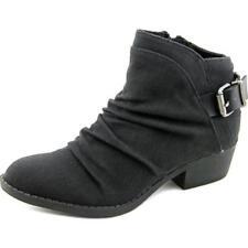 Scarpe da donna neri tela tacco medio ( 3,9-7 cm )