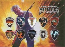 METALLICA - A5 SIZE LIMITED EDITION - GUITAR PICK DISPLAY