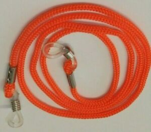 Orange Glasses Cord High Quality Pack of 1 Cord Silicon Secure Grips