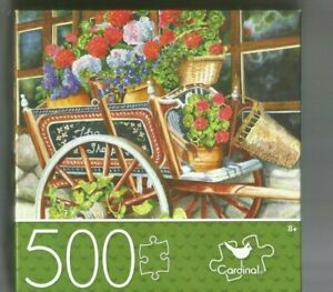 Peddlin' Posies Jigsaw Puzzle 500 pcs By Cardinal Excellent