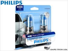 New! PHILIPS 9008 H13 Crystal Vision Headlight Bulbs 9008CVB2 60/55W PAIR