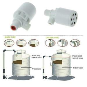 1* Automatic Water Level Control Valve Float Valve White Tank Hot Pool F X7K2