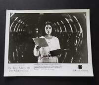 Julie Carmen Hand Signed Movie Photo (In The Mouth Of Madness)