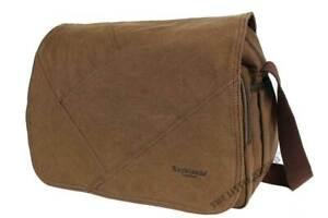 Rocklands Mens Canvas Casual Messenger Bag Shoulder Side Work Satchel RL44054-5