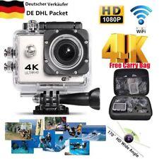 Wasserdicht WiFi Sport Action Camera 1080P 4K 2'' Ultra HD Camcorder Weiß