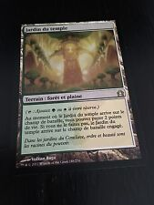 MTG MAGIC RETURN TO RAVNICA TEMPLE GARDEN (FRENCH JARDIN DU TEMPLE) NM