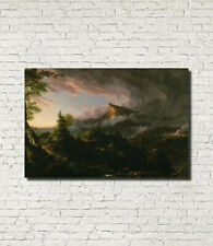 """Course of Empire Savage State Thomas Cole Architecture Art Print 16x24"""""""