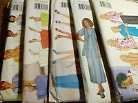 WOMEN'S PLUS BUTTERICK SEWING PATTERNS SIZE 16W-18W-20W, LOT OF 5, NEW