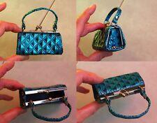 JOLI ancien petit sac poupée 9,5 cm idéale poupée de mode CATHIE de BELLA ou aut