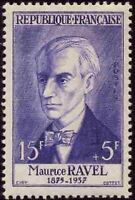 """FRANCE STAMP TIMBRE N° 1071 """" COMPOSITEUR MAURICE RAVEL """" NEUF xx TTB"""