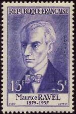 "FRANCE STAMP TIMBRE N° 1071 "" COMPOSITEUR MAURICE RAVEL "" NEUF xx TTB"