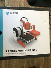 Labists Mini Desktop 3D Printer DIY Kit Magnetic Removable Plate Beginners Kids