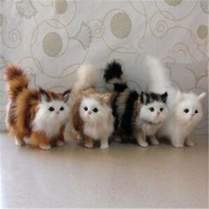 Simulation Stuffed Plush Persian Cats Toys Cat Dolls Kids Girls Gift Table Decor