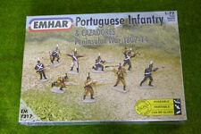 GUERRA D'INDIPENDENZA spagnola portoghese FANTERIA & Cazadores 1807-14 1/72 EMHAR 7217