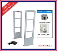 Double Door 500 Jumbo Tag Eas Rf Retail Anti Theft Security System Tool