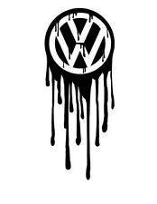 Il dissanguamento VW finestra / PARAURTI VDub euro T5 VAN GOLF POLO Vinile Adesivo Decalcomania