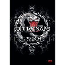 WHITESNAKE - Live in 84 ( back to the bone ) DVD +BONUS