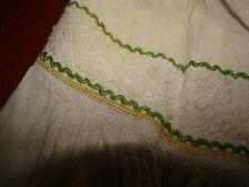 Vintage Ukrainian  embroidered linen shirt  Poltava region # K136