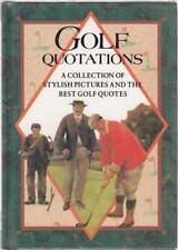 Livres de sports anglais sur golf