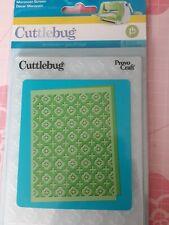 Provo craft Cuttlebug Embossing Folder. Moroccan Screen. 5.75 X 4.25 Inch