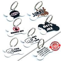 Cute Custom Pet Tags Personalised Dog Tags Cat Name Tag Pet ID Tag Engraved Free