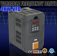 CE/TOP QUALITY 4KW VARIABLE FREQUENCY DRIVE INVERTER CONVERTER VFD NEW 5HP&220V