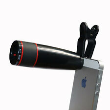 Clip On 12X Mobile Phone Telescope Camera Lens For iPhone Samsung HTC xiaomi