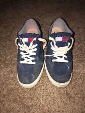 Vintage Tommy Hilfiger Big Flag Logo Spell Out Shoes Size 12 USA