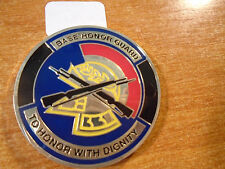 Base Honor Guard Hurlburt Field FLA Drill Team Best In The USAF Challenge Coin