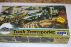 MPC Tank Transporter  1/76 Scale Plastic Model Hobby Kit Unassembled
