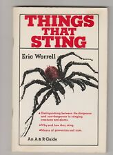 THINGS THAT STING Eric Worrell - Stinging Creatures & Plants in Oz p/b vgc 1977