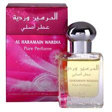 Wardia Al Haramain Perfume Oil Attar With Tea Rose, Musk, Geranium, Taif  15ml