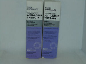 Advanced Anti-Aging Therapy Retinol Eye Cream  X2