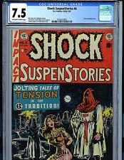 EC Shock Suspenstories #6 CGC 7.5 1952 Golden Age Wood Cover K10