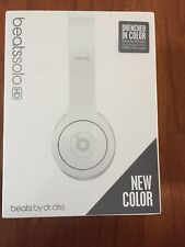 Brand New Beats by Dr. Dre - Beats Solo HD On-Ear Headphones - Drenched in White