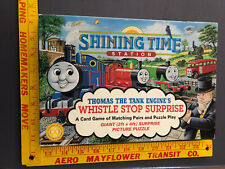 THOMAS The TANK ENGINE WHISTLE STOP SURPRISE SHINING TIME STATION game puzzle