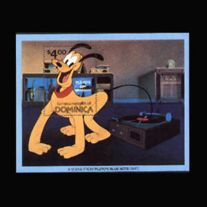 Dominica, Sc #695, MNH, 1981, S/S, Disney, Pluto's Blue Note, AHI-B