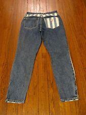 Women's BNWT Guess Original's x ASAP Rocky Striped Skinny Denim Jeans sz 27