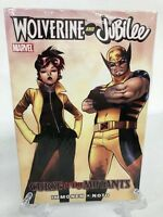 Wolverine & Jubilee Curse of the Mutants Col 1-4 Marvel HC Hard Cover New Sealed