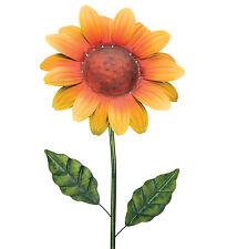 36 '' TEXTURED FLOWER STAKE - SUNFLOWER - HAND PAINTED - REGAL ART & GIFT 11453