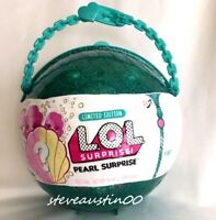 Authentic Lol Pearl Surprise Green Ball Mermaid Big Lil Little Sisters Doll NEW