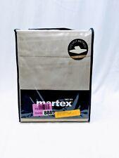 Martex Tempurpedic 5-Piece Sheet Set 400 Thread Count Split King Size Brown