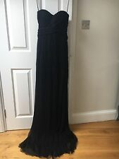 Jasmine Di Milo black ball gown with embroidery UK 10 - never worn (with tags)