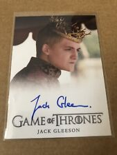 Game of Thrones SEASON 3  FULL BLEED AUTOGRAPH CARD JACK GLEESON, JOFFREY AUTO