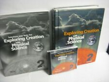 3 pc. APOLOGIA EXPLORING CREATION W/ PHYSICAL SCIENCE- 2ND ED. TEXTBK,SOL.,CD