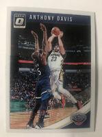 Anthony Davis 2018 Donruss Optic Base Los Angeles Lakers #47