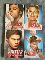 Dexter Complete Seasons 1 2 3 & 4 One, Two, Three & Four DVD Sets New/Sealed
