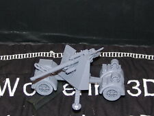 Flames Of War German 88mm Flak/At 1/100 15mm Free Shipping