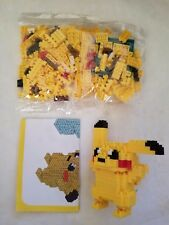 PIKACHU HANDS UP POKEMON DIAMOND BLOCKS TOYS LEGO MINI NANOBLOCK NANO USA SELLER
