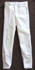 Kinder Reithose, 3/4 Vollbesatz,weiß, Gr. 176,Strass, UVP:89,90 €,baroux (42)